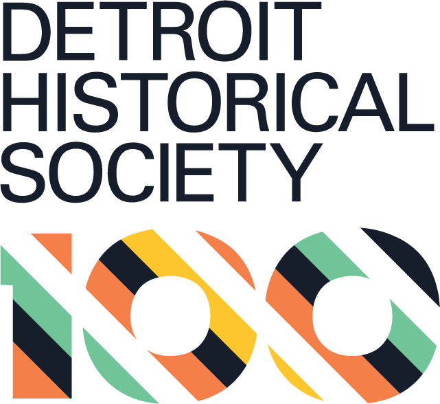 Detroit Historical Society Centennial Logo